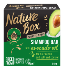 90443046 NB Avocado Oil Shampoo Bar Box 85g